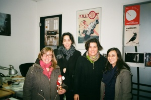 The female part of the selection committee -Maike Mia Höhne, Anna Henckel-Donnersmark, Saskia Walker, Maria Morata