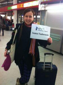 Ivana Todorović arrived!