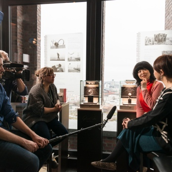 Interview with Yoriko Mizushiri and Tamaki Okamoto (maku)
