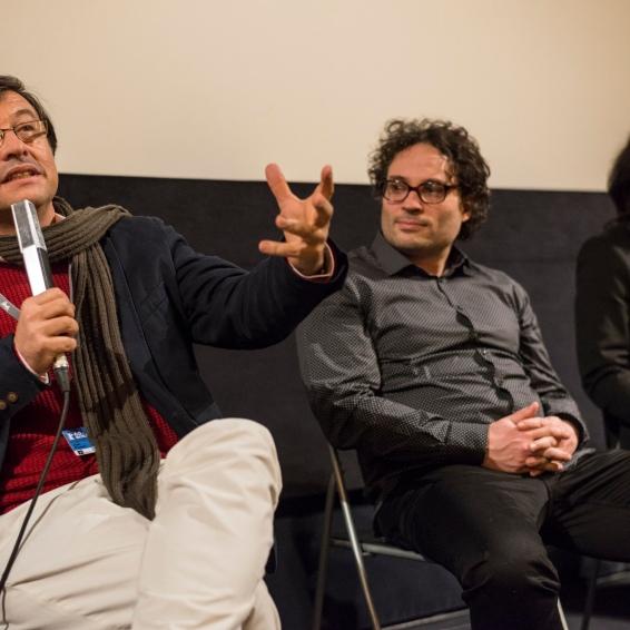 Joel Pizzini (MAR DE FOGO), Ulu Braun (Architektura) and Wregas Bhanuteja (Lembusura)