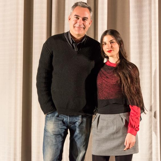 Beatriz Ros and David Muñoz (El Juego del Escondite)