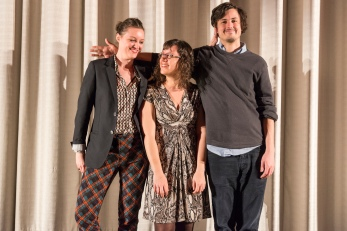 Eleanore Pienta, Joanna Arnow and Keith Poulson (Bad at Dancing)