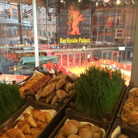 breakfast at AUDI Berlinale Lounge